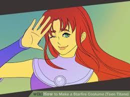 Starfire Costume The 25 Best Starfire Costume Ideas On Pinterest Teen Titans