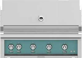 hestan gmbr42ngtq 42 inch built in grill in bora turquoise