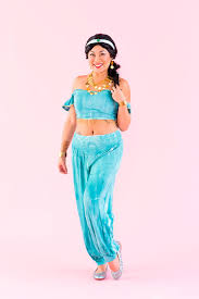Jasmine Halloween Costume Adults Dreams True Disney Princess Group