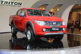 triton mitsubishi 2016 new mitsubishi triton lcv showcased u2013 giias 2015