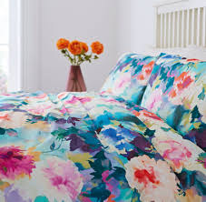 linea bloomsbury floral duvet cover set house of fraser