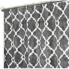 Amazon Extra Long Shower Curtain Amazon Com Extra Long Shower Curtain Unique Designer Fabric