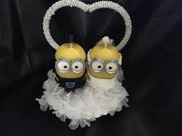minion wedding cake topper 7 best mycw wedding 2015 minions images on wedding