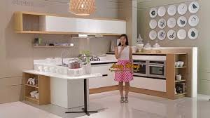 white lacquer kitchen cabinet from oppein youtube