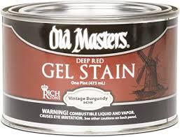 masters gel stain kitchen cabinets masters 84208 gel stain pint 1 vintage burgundy