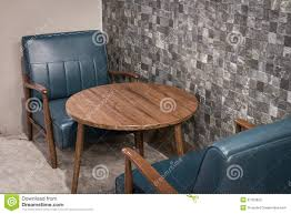 table and chairs in coffee shop stock photo image 51353923