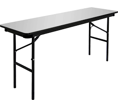 Heavy Duty Folding Table Amazon Com Iceberg 55277 Premium Wood Laminate Folding Table