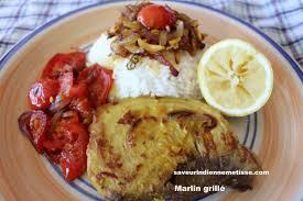 cuisiner les c es frais marlin grillé saveur indienne métisse