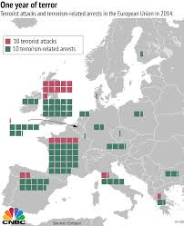 Religious Map Of Europe by The Rise Of Religious Terrorism In The Eu