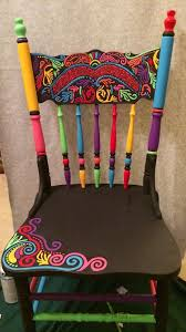 25 unique painted chairs ideas on pinterest hand painted chairs