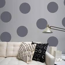Large Diamonds Vinyl Wall Decals Stickers For Harlequin Wall - Polka dot wall decals for kids rooms