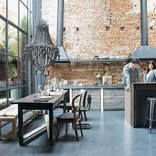 Federal Style Interior Decorating Elegant Modern And Classy Interiors With Brick Walls Exposed