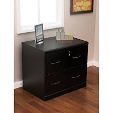 Lateral Filing Cabinet 2 Drawer Z Line Designs 2 Drawer Lateral File Cabinet Black