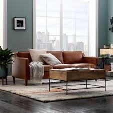 Brown Leather Sofas by Turner Roll Arm Leather 3 Piece L Shaped Sectional Pottery Barn