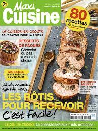 magasine de cuisine abonnement magazine editions bauer maxi maxi cuisine les