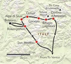 Safari Zone Red Map Ultimate Dolomites Itinerary U0026 Map Wilderness Travel