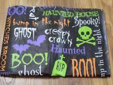 halloween tablecloth ebay