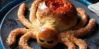 saucy spider with hair leg sticks recipe u2013 halloween recipes at