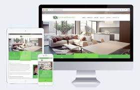 website to design a room real estate templates real estate website design intagent