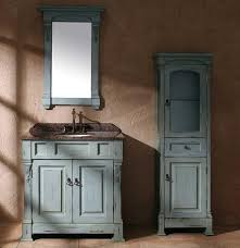 distressed wood bathroom cabinet trends in bathroom vanities part 2 stylish color choices