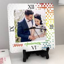 Personalized Anniversary Clock Anniversary Gifts For Male Friend Buy Anniversary Gifts For Male