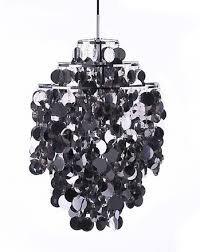 Black Hanging Light Fixture Chrome Hanging L Interior Design Inspiration Designs