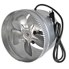 suncourt 6 inline duct fan suncourt inductor 10 in corded in line duct fan db210c the home depot