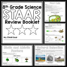 staar science review booklet staar test middle science