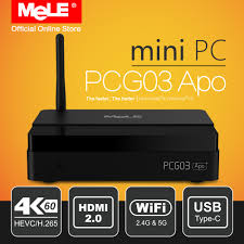 petit pc de bureau fanless windows 10 mini pc de bureau mele pcg03 apo 4 gb 32 gb intel