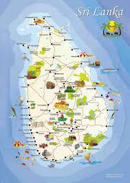Countries Visited Map Sri Lanka 0 Sri Lanka Travel Maps And Asia