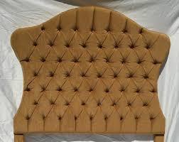 gold headboard etsy