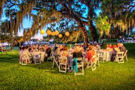 small wedding venues island gorgeous photo of a riverfront lawn wedding reception at the