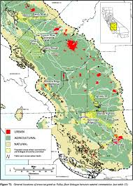 Csus Map Endangered Species Recovery Program Data And Maps