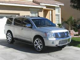 2007 nissan armada information and photos zombiedrive