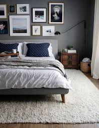 Black Wood Nightstand Blue And Grey Bedroom Color Schemes Elegant Wooden Bed Design