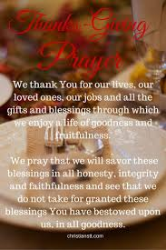 thanksgiving prayer in all things give thanks christianstt