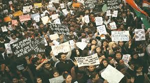 Seeking In Delhi Jnu Students March Seeking V C S Removal The Indian Express