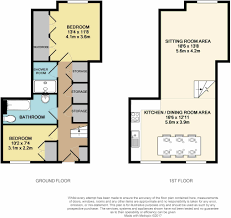 787 Floor Plan by 2 Bedroom Terraced House For Sale In Southdowns Park Haywards