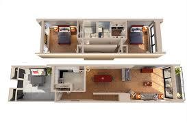 the envoy floor plans columbia plaza view 2d floor plan the lincoln two bedroom walkup walkdown floorplan