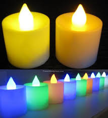 electronic candles 6 color electronic candles colorful new led