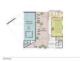 museum floor plan design gallery of auerbach halevy wins competition to design jewish