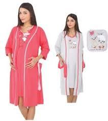 robe de chambre maternité chemise de nuit allaitement robe chambre nuisette maternité