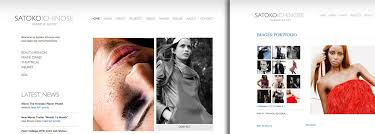 Online Resume Portfolio Examples by Examples Of Make Up Artist Websites And Make Up Artist Portfolios