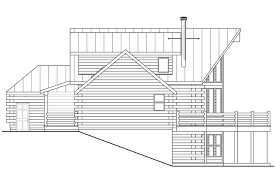 a frame house plans with basement sylvan 30 023 a frame house plans cabin vacation timber frame
