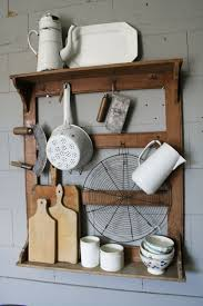 for the kitchen this amazing repurposed rack to hold your