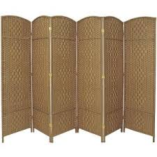 Room Dividers Hobby Lobby by Ore International 5 56 Ft Brown 4 Panel Room Divider Fw0676rd