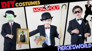 diy last minute halloween costumes psy monopoly son of man