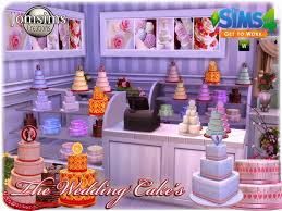 wedding cake in the sims 4 cc wedding cakes for the sims 4 get to work sims community