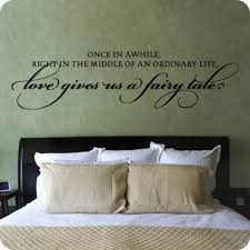 bedroom wall quotes master bedroom wall quotes