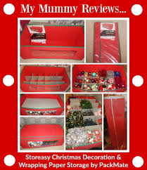 Christmas Decorations Storage review of storeasy christmas decoration storage box u0026 wrapping